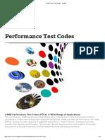 PTC codes