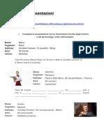 Esercizi presentazioni