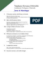 Breve Corso Di Mariologia