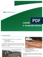 Concrete Roads Presentation - Africa City & Urban Development 2015