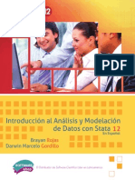 Introducción Al Análisis y Modelación de Datos Con Stata 12 en Español (Rojas y Gordillo)