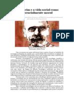 Durkheim e a Vida Social Como Essencialmente Moral