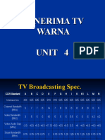 Penerima Tv Warna Unit 4