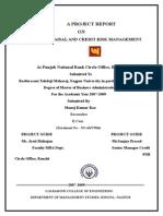 Credit Appraisal & Risk Management