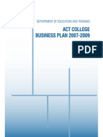 College Business Plan