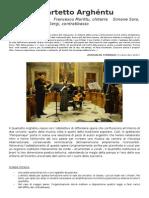 Quartetto Arghéntu Italiano