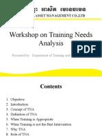 Workshop on Assessement