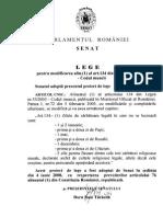 Proiectul de Lege La 53.2003