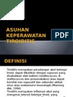 ASUHAN KEPERAWATAN TIROIDITIS