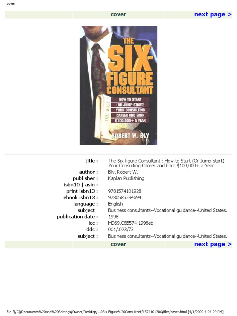 Robert bly six figure consultantpdf temporary work consultant fandeluxe Gallery