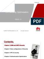 Core Network KPI Optimization_Security_Huawei