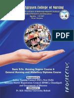 MAMC B.sc. Nursing Prospectus