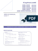 Play Station 2 Service Manual Level 1 SCPH 30000-50000