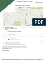 00_EA Hotel Tosca to Indická Restaurace Lal Qila - Google Maps