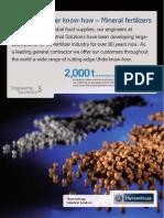 TKIS Mineral Fertilisers