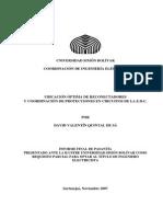 Ubicacion Optima de Reconectadores y Coordinacion de Protecciones de Circuitos de Distribucion de La ELectricidad de Caracas