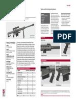 SAS Weapons Anti Materiel Rifles Barret M82