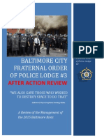 Baltimore Fops After Action Review