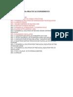 MSc-PRACTICAL EXPERIMENTS LIST.doc