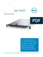 Dell Poweredge r420 Technical Guide