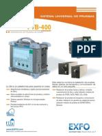 EXFO Spec-sheet FTB-400 Es