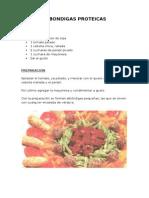 Albondigas Proteicas