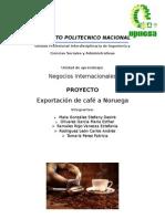 Exportación de Cafe a Noruega