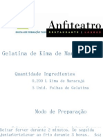 Gelatina de Kima de Maracujá