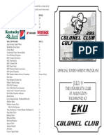 Colonel Club Golf Classic