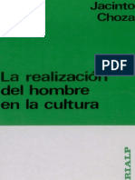 Realizacion Hombre Cultura - Jacinto Choza