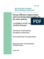 Glass-Energy Efficiency costs