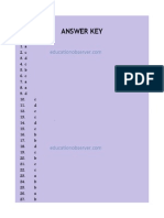 MPPSC Forest Ranger Exam 2011 Answer Key