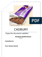 22450560 Cadbury Marketing Strategy