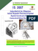NEO-15 Seguridad de Las Máquinas – Defensas Resguardos Protecciones de Seguridad – Requisitos G