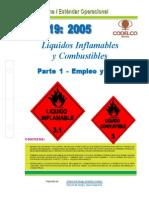 NEO-19 Líquidos Inflamables y Combustibles – Parte 1 Empleo y Manejo.
