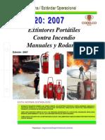 NEO-20 Extintores Portátiles Contra Incendio – Manuales y Rodantes.