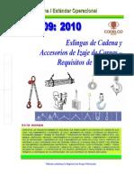 NEO-09 Manejo de Cargas Con Eslingas de Cadena – Accesorios de Levante.