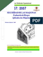 NEO-57 Seguridad de Las Máquinas – Evaluación de Riesgos Aplicada a Las Máquinas.