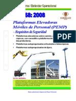 NEO-68 Plataformas Elevadoras Móviles de Personal (PEMP) – Requisitos de Seguridad.