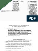 Lancaster Newspapers Defamation September 4 1987 - July 10, 2015