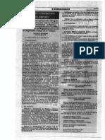 DS 012-2014 TR (Modificatoria Art 110 Reglamento Ley 29783)