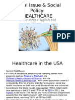 Social Issue & Social Policy(Healthcare)