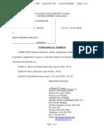 Monsour et al v. Menu Maker Foods Inc - Document No. 105