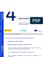 Informacion Practica Pasos Previos Erasmus +