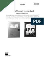 Foxboro 43ap Pneumstic Controller