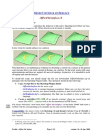 Tutorial Offset on Surface - English - V1.0 - 10 Apr 08