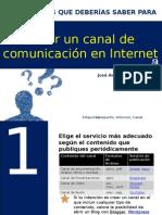10 pasos para crear canal de comunicación en internet