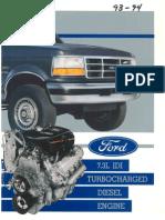 Ford Power Stroke 93 94 manual