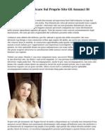 Non E Reato Pubblicare Sul Proprio Sito Gli Annunci Di Escort E Prostitute.