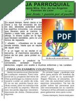 Hoja Parroquial nº 1495  12 julio 2015